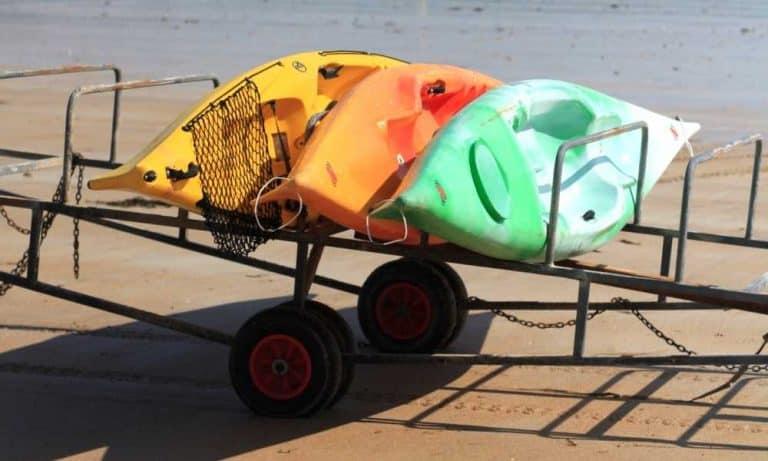 Tow a Kayak with a Car