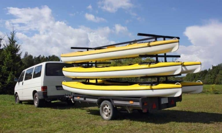 Transporting your kayak
