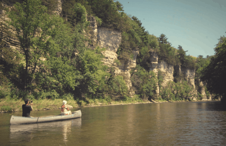 best places to kayak in iowa