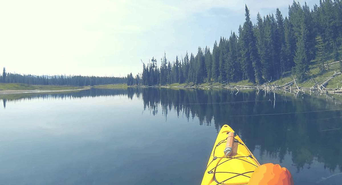 yellowstone kayaking trip